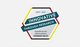 """Forschungssiegel """"Innovativ durch Forschung"""" für ARRI Medical"""